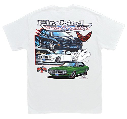 Pontiac Firebird Trans Am Transformation T-Shirt: LARGE - Royal T/A Hurst Formula (1974 Pontiac Trans Am compare prices)