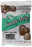 Wilton Candy Melts Dark Cocoa Mint 340 g (Pack of 3)