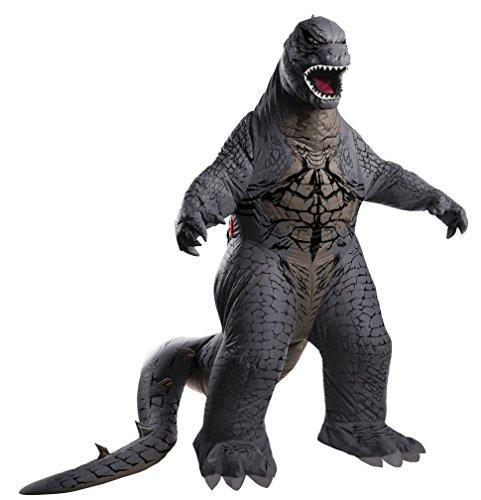 Popcandy Adult Inflatable Godzilla Costume Japanese Movie Monster Costume 880856 (Godzilla Inflatable Costume)
