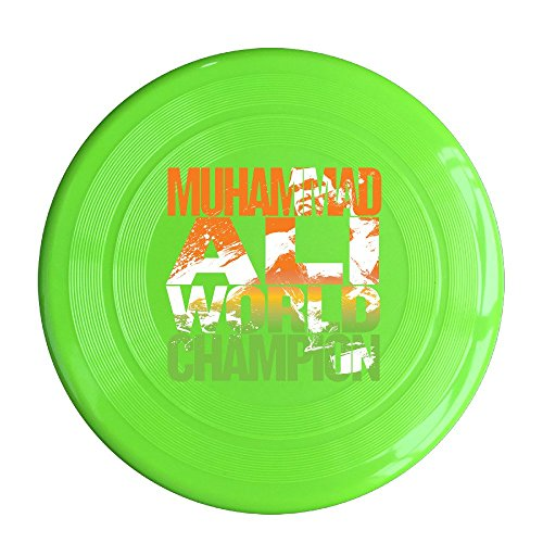 YQUE56 Unisex Boxer Poster Outdoor Game Frisbee Flyer Frisbee KellyGreen