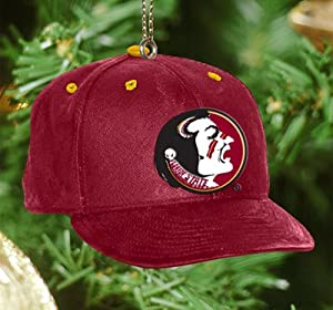 Florida State Seminoles Baseball Cap Ornament by The Memory Company