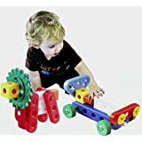 AND Retails Junior Engineer Science Tool Kit -Jumbo Size Building Blocks Construction Toy Set