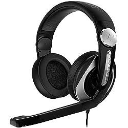 Sennheiser PC 330 Game Over-Ear Headphone with Mic (Black)