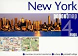 New York City, NY PopOut Double Edition (Popout Map)