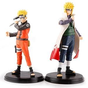 5.7Inch Naruto Uzumaki PVC Figure Toys Set 2Pcs by PSK limited
