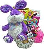 "Delight Expressions® ""Easter Bunny"" Gift Basket for Kids - Easter Gift for Girls"