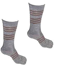 Alfa Mens Woolen Blended Socks (Pack of 2)(AMJwlSAsP2_Assorted Color)