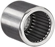 Koyo M-16121 Needle Roller Bearing, Drawn Cup, Closed End, Open, Inch, 1