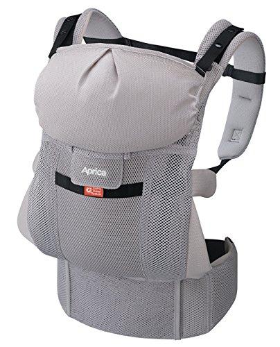 Aprica (アップリカ) 【体重2500gから使える】 抱っこひも Carry Travel System コランCTS スマートグレーGR 4WAYタイプ 【疲れにくい腰ベルト & サポートハーネス付】 39552