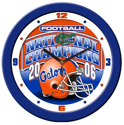 Florida Gators Football Champion Wall Clock