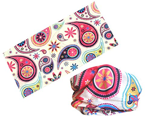 Multifunction Seamless Style Bandanna Headwear Scarf Wrap Cool Neck Gaiters. Perfect for Running & Hiking, Biking & Riding, Skiing & Snowboarding, Hunting, Working Out & Yoga for Women and Men.
