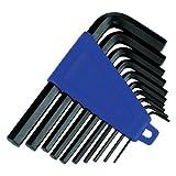 Silverline Hex Key Imperial Set 10pce 1/16â³-3/8â³ HK19