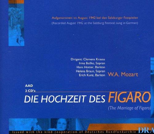 Mozart:The Marriage of Figaro/Die Hochzeit Des Figaro (Sung in German) (Salzburg Festival 1942)