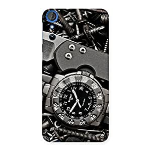 Impressive Knife And Watch Back Case Cover for HTC Desire 820