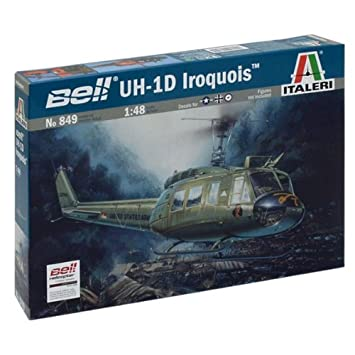 Italeri - I849 - Maquette - Aviation - Uh 1d Slick