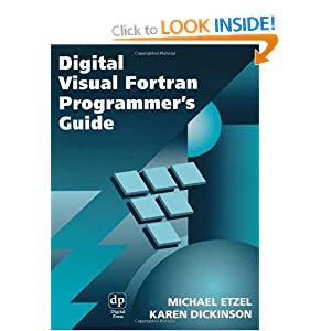 Digital Visual Fortran Programmer's Guide (HP Technologies)