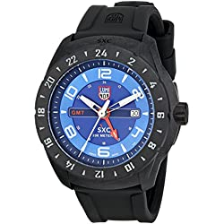 Luminox Men's 5023 SXC PC Carbon GMT Analog Display Analog Quartz Black Watch