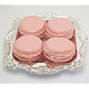 Pink Macarons Set Of 4 With Tray Perfect For 18 Inch American Girl Dolls