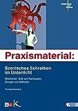Image de Praxismaterial: Szenisches Schreiben im Unterricht: Minidramen: Texte zum Nachspielen, Üb