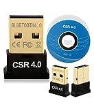 ブルートゥースアダプタ Bluetooth 4.0 USBレシーバーアダプタ CSR-ADAPTER | USBアダプタ Bluetooth4.0 Ver4.0(EDR/LE対応) 極小サイズ