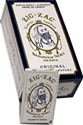 Zig Zag Rolling Papers White Domestic 24 ct Model: Office Supply Store