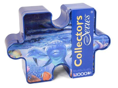 1000pc Collector Tin Steve Sundram Moonlight Splash - 1