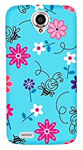 TrilMil Printed Designer Mobile Case Back Cover For Lenovo S820