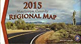 img - for 2015 Maricopa County Regional Map book / textbook / text book