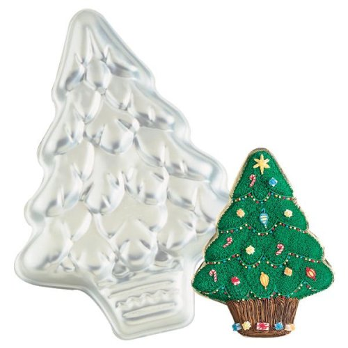 Wilton Cake Pan: Treeliteful/Holiday or Christmas Tree (2105-425, 1991)