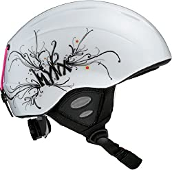 Salomon Mynx Helmet - Junior - 51-55cm/White-Pearl