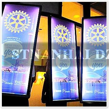 Stnanhai 2014 New Design,Indoor/Outdoor Led Lightboxes Ads,Led Illuminated Aluminum Frame High Brightness For Election Day Promotion