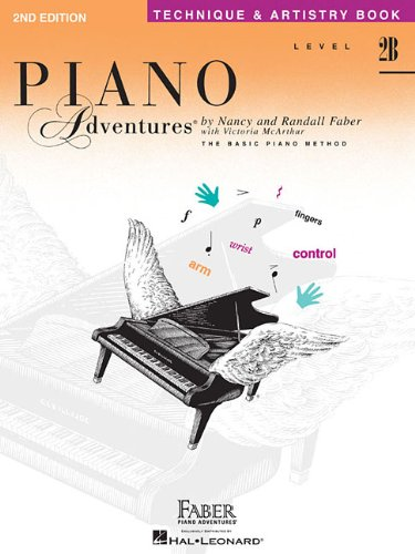 Level 2B - Technique & Artistry Book: Piano Adventures