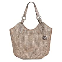 The Sak Indio Tote (Metallic Straw)