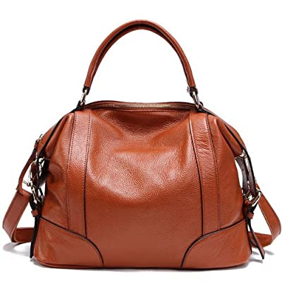 TOP-BAG Lovely Women Ladies' Genuine Leather Tote Bag Handbag Shoulder Bag, SF1006