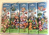 Disney Parks Chocolate Bar Variety Package of 5 Sealed 1.75 ounces each