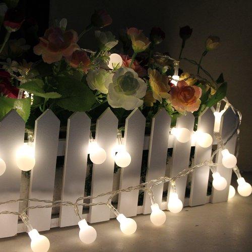 Innoo Tech Battery Operated Globe String Light 40 LED Ball Fairy Light for Christmas Partys ...
