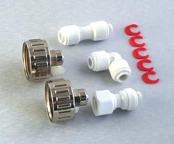 Universal Gorenje Kühlschrank : Wasserzulaufleitung universal anschluss set für kühlschrank side