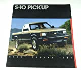 1987 87 Chevrolet Chevy S-10 PICKUP Truck BROCHURE