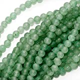 Light Green Aventurine Smooth Round Beads 4mm/15.5 Inch Strand