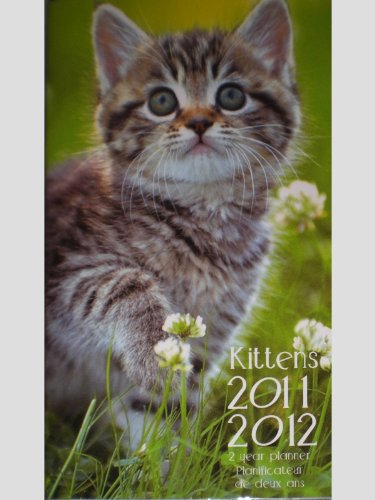 Kittens Cats 2011/2012 2 Year Pocket Planner Calendar