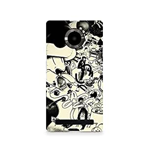TAZindia Designer Printed Hard Back Case Cover For Micromax Canvas Yuphoria