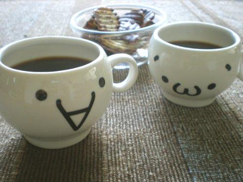 気分盛り上げ♪顔文字くんマグカップ 3(ショボーン)