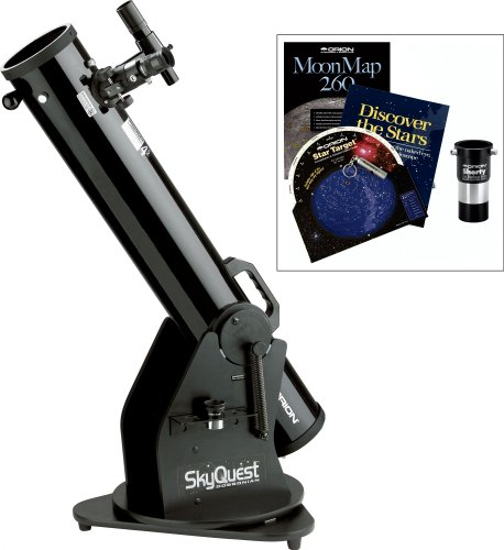 Orion 27192 Xt4.5 Dobsonian Telescope And Beginner Barlow Kit