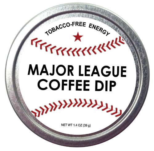 Major League Coffee Dip Quit Chewing Tin Can Non Tobacco Nicotine Free Smokeless Alternative To Chew Snuff Snus Leaf Los Angeles Angels Of Aneheim Oakland Athletics Seattle Mariners Texas Rangers Cleveland Indians Detroit Tigers Minnesota Twins Kansas Cit