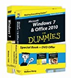 img - for Windows 7 & Office 2010 For Dummies - Portable Edition + Windows 7 For Dummies DVD - Book + DVD Bundle book / textbook / text book