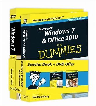 Windows 7 & Office 2010 For Dummies - Portable Edition + Windows 7 For Dummies DVD - Book + DVD Bundle