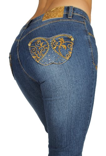 apple bottom jeans size 24w or plus size. gorgeous pair of jeans from the winter glamourland collection. clear gems/rhinestones on the back pockets look crystal like!