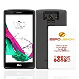 LG G4 Battery Case, ZeroLemon LG G4 8500mAh TriCell Extended Battery + Soft TPU Full Edge Protection Case (Compatible with All LG G4 variants) (4897010519648) (Color: Black)