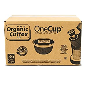 The Organic Coffee Co. OneCup, Java Love, 36 Single Serve Coffees