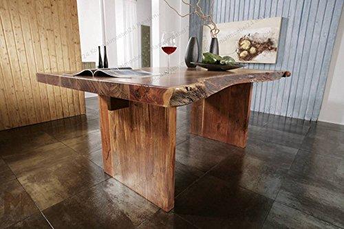 Meubles en bois massif d'acacia baumtisch 190 x 110 xlandhausstil en bois massif de noyer laqué massivmöbel freeform#102